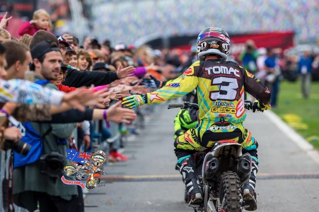 Eli Tomac at Daytona