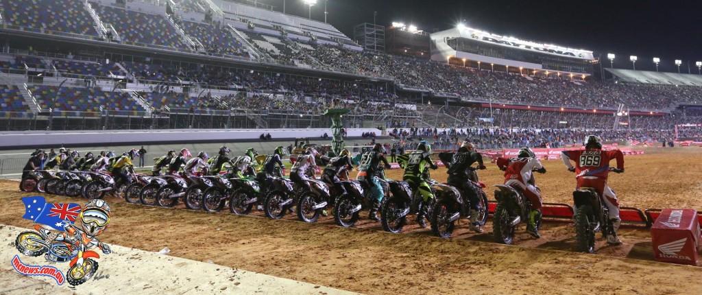 Daytona Supercross Start
