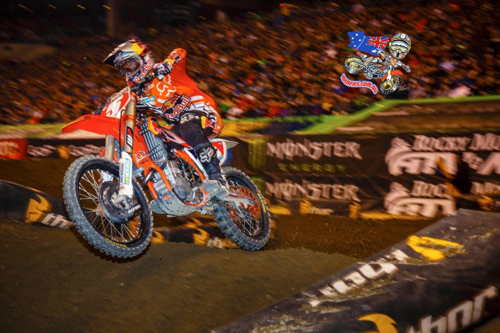 Ryan Dungey on his way to the win at Indianapolis