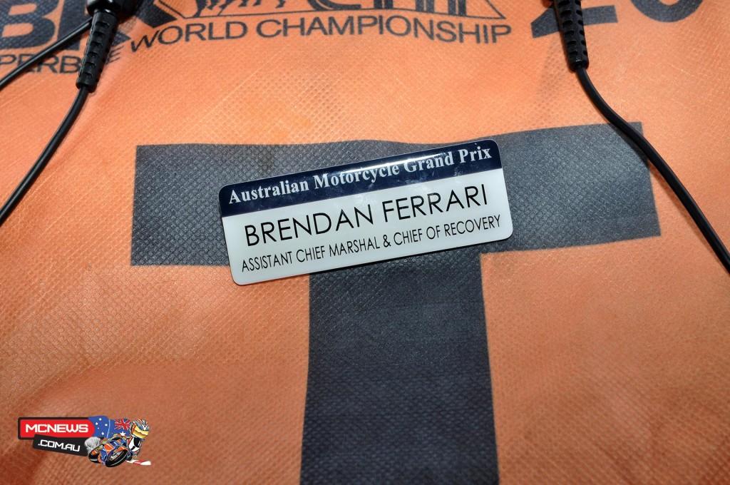Brendan Ferrari's Badge of Honour