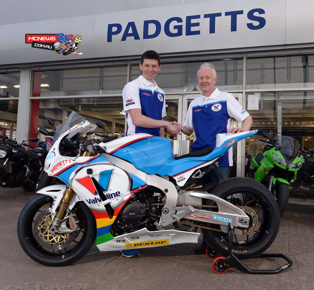Dan Kneen joins Valvoline Racing by Padgetts Motorcycles team for the 2015 Isle of Man TT