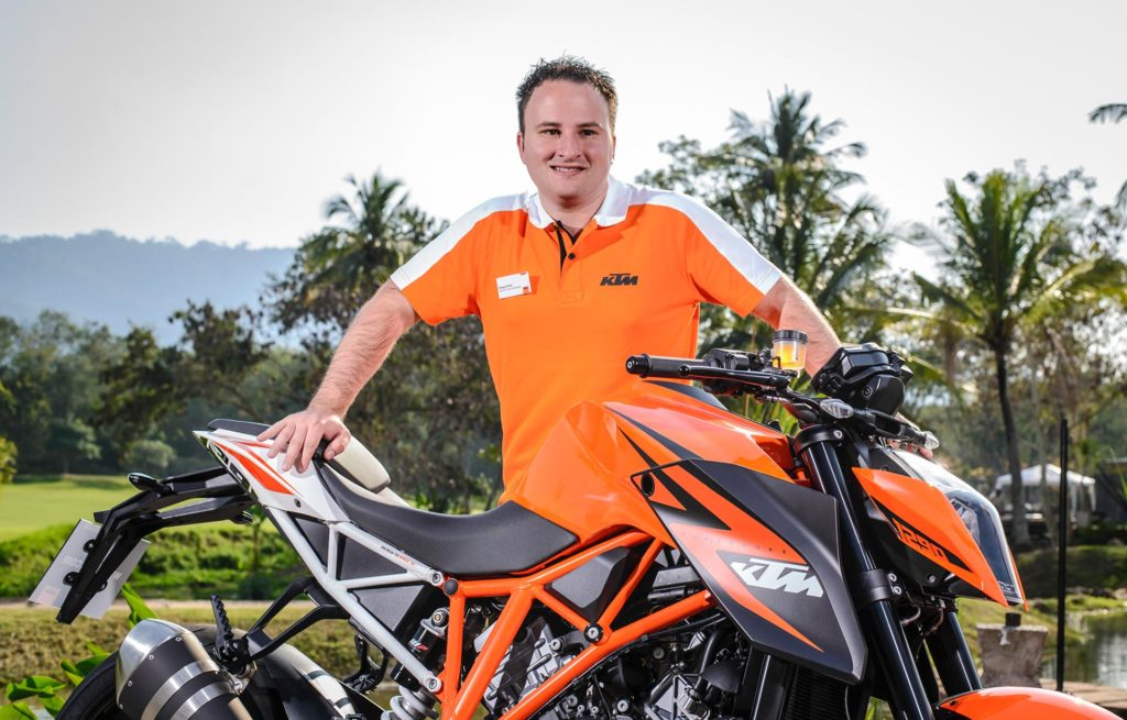 Diego Arioli Head of KTM Product Marketing