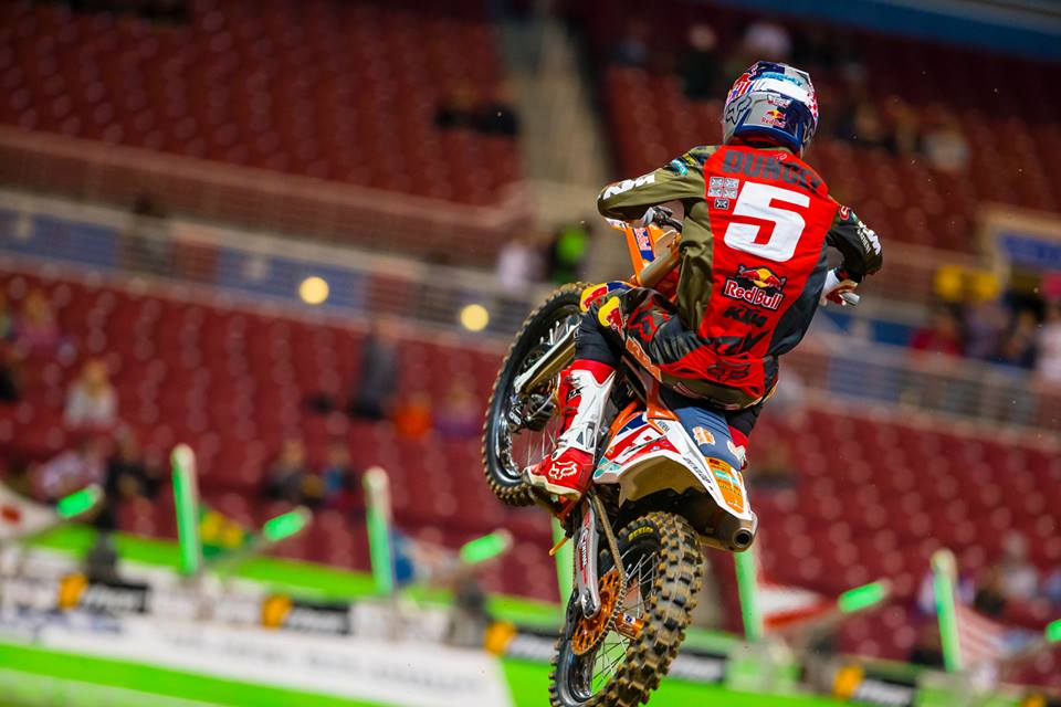Dungey extended his championship lead with another win