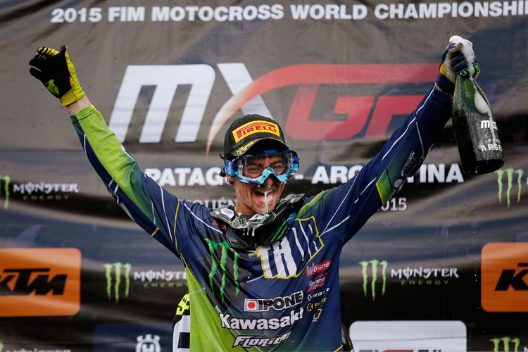 Dylan Ferrandis was wrapped to win the GP of Argentina