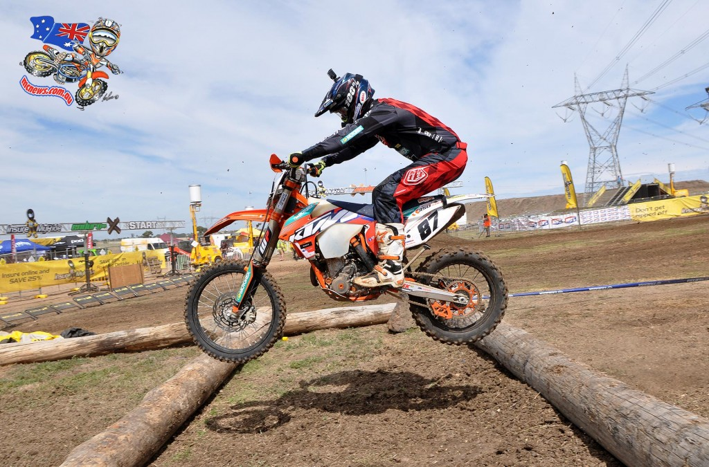 Toby Price finished second at Calder in the Enduro-X Nationals