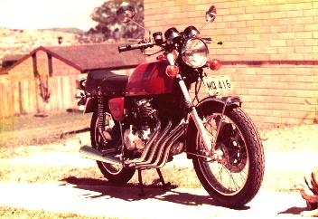 Phil Hall's Honda 400-4