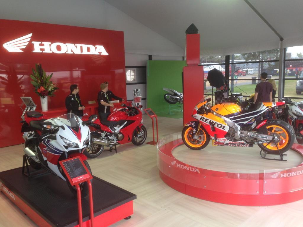 Honda Motorcycles at Melbourne F1 GP