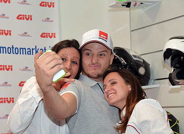 Jack Miller meets the fans in Italy