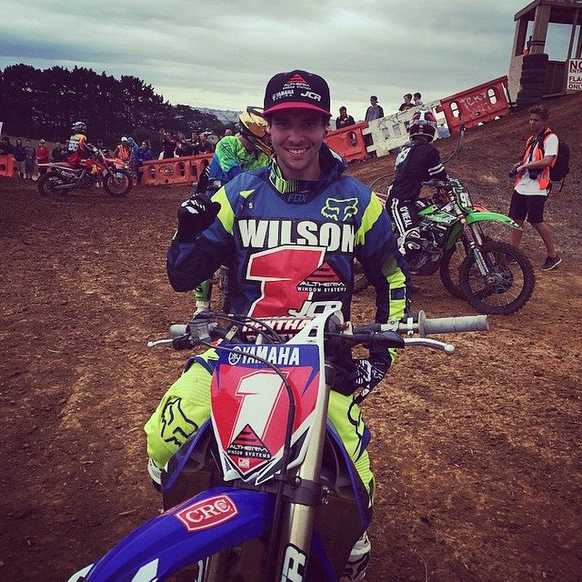 Jay Wilson won the NZ MX2 Title