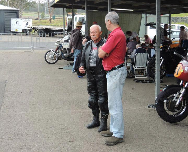 Barry Sheene Festival of Speed - Jim Scaysbrook and Bob Rosenthal