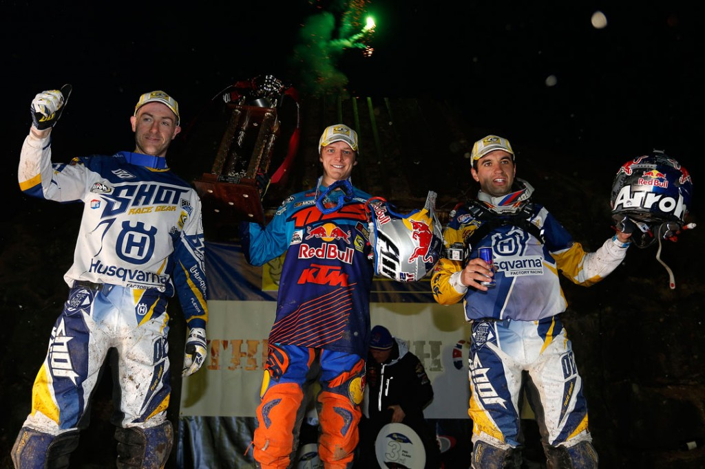 Tough One Hard Enduro 2015 Podium