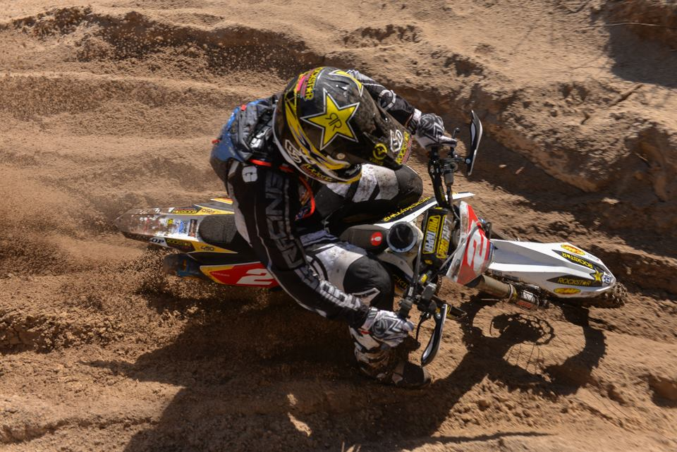 Josh Strang kicked off his 2015 GNCC campaign with a second