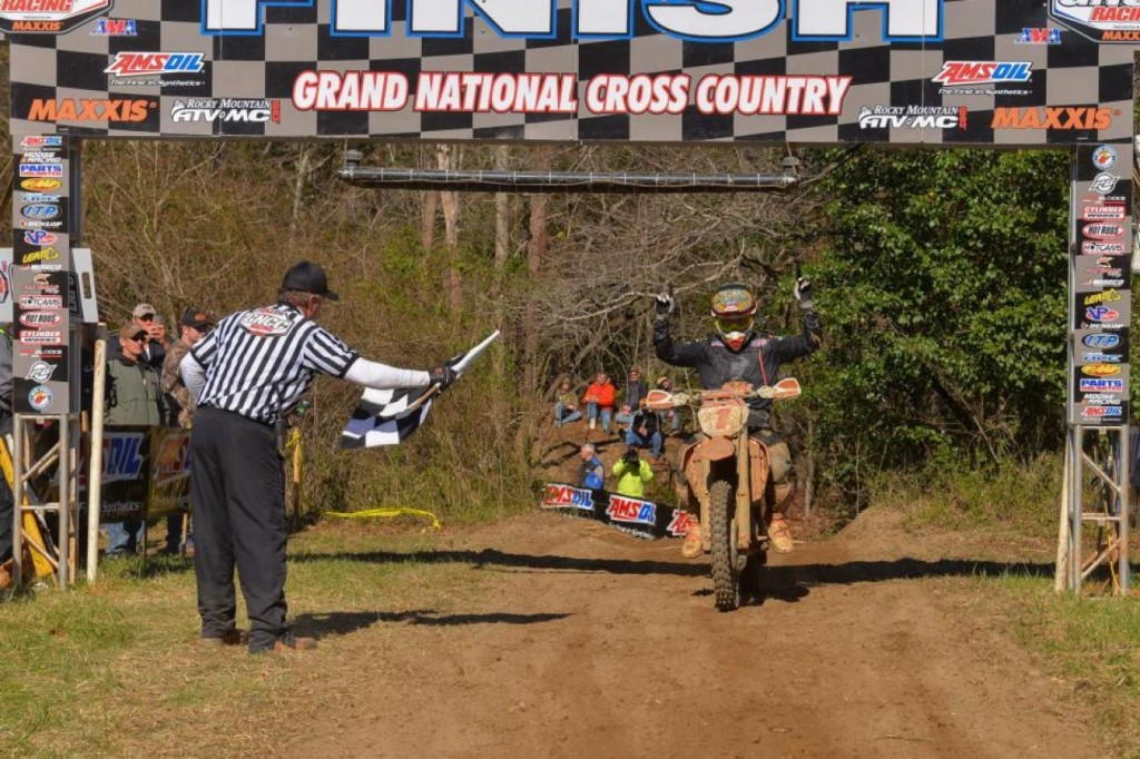 Kailub Russell continues to dominated the GNCC