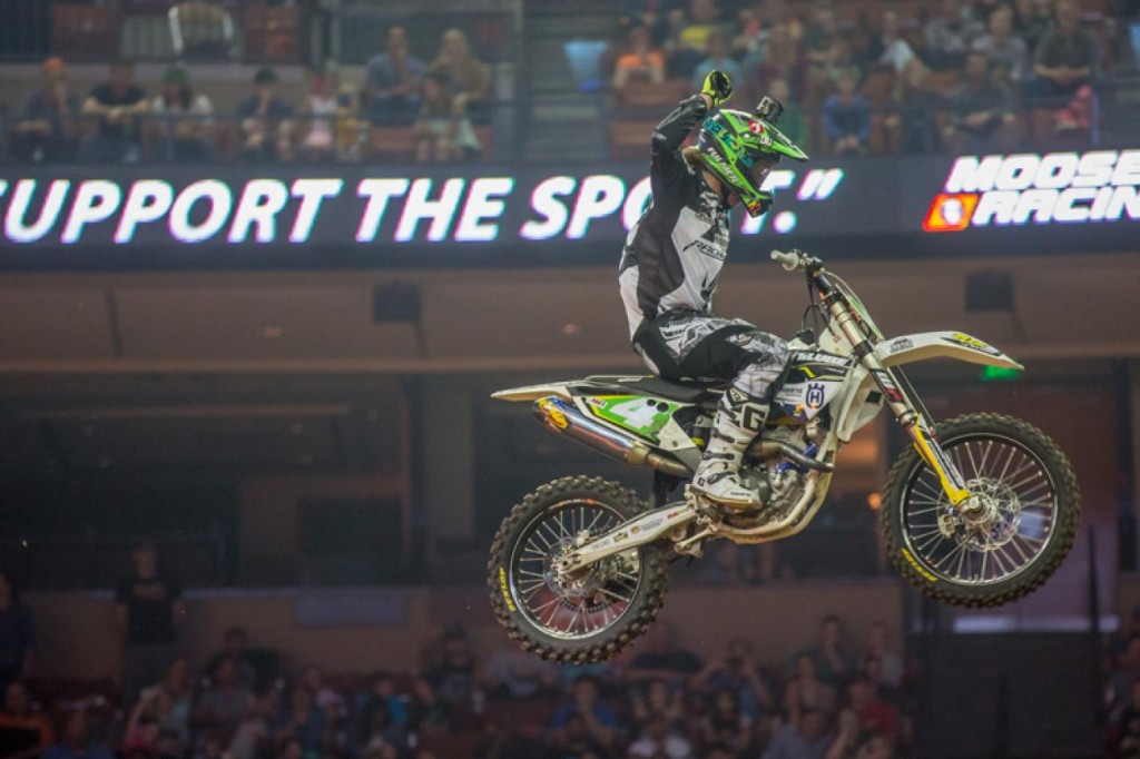 Kyle Regal is now the Arenacross points leader