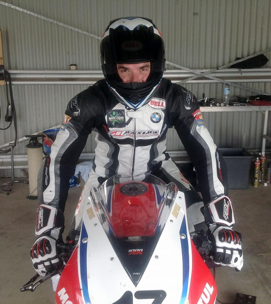 Linden Magee tested a Team Honda Racing Honda CBR 1000 RR Fireblade SP this week at Wakefield Park