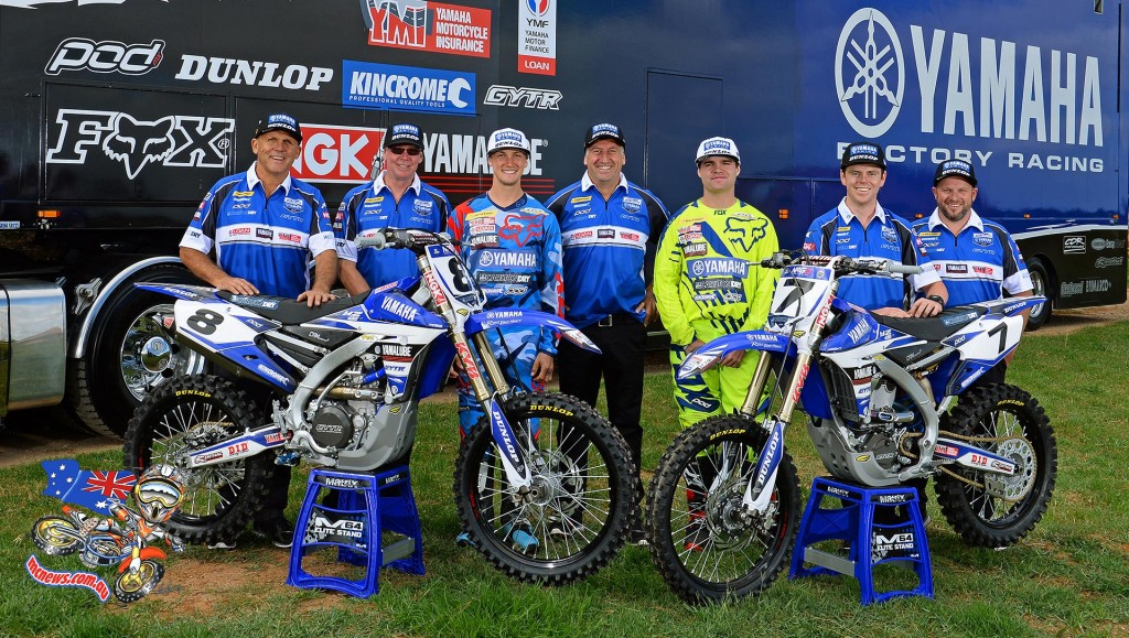 Team CDR Yamaha - MX Nationals 2015