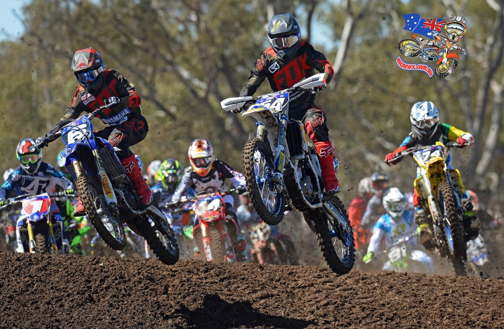 Wilson and Arbon - MX Nationals 2015 Horsham