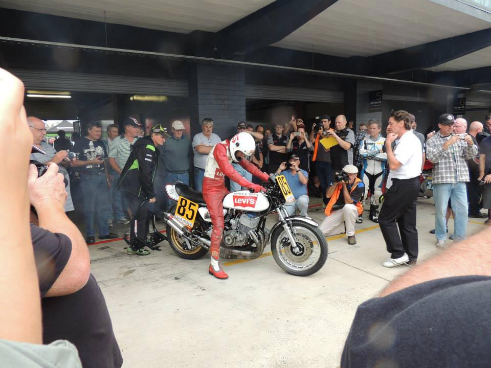 Barry Sheene Festival of Speed - Mach IV Demo Laps