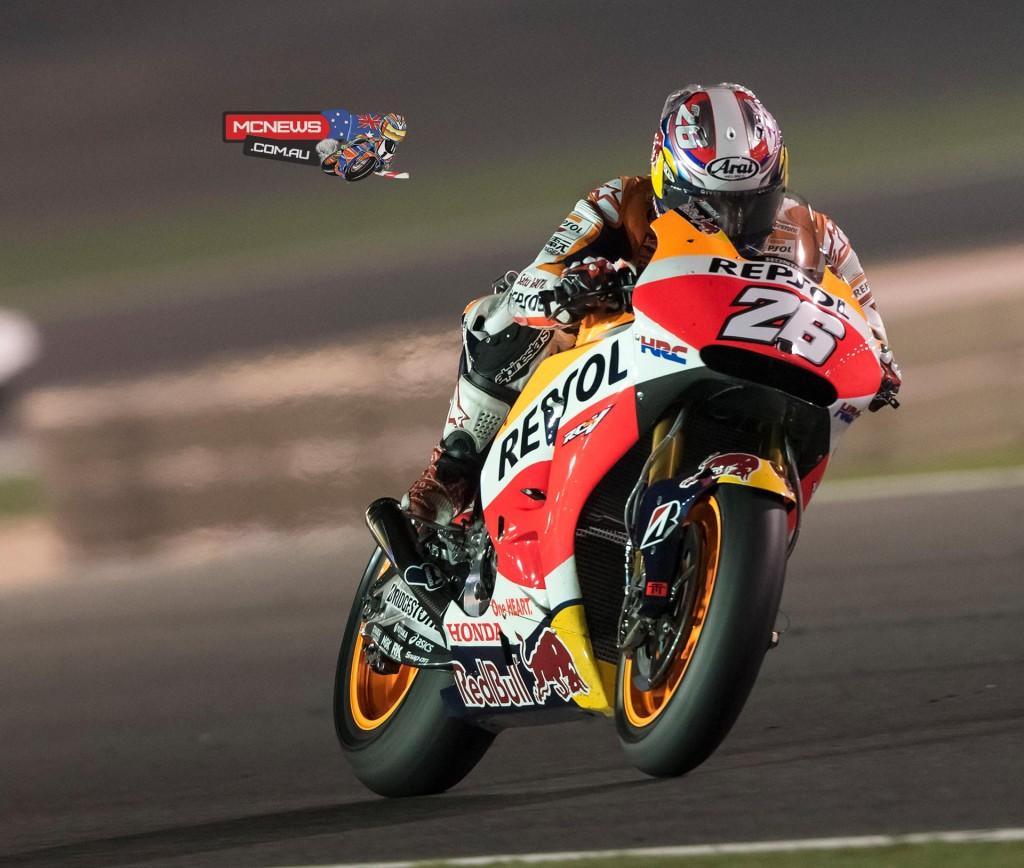 Dani Pedrosa Qatar MotoGP 2015
