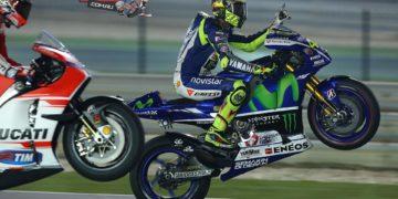 Valentino Rossi victorious at Qatar 2015 MotoGP season opener