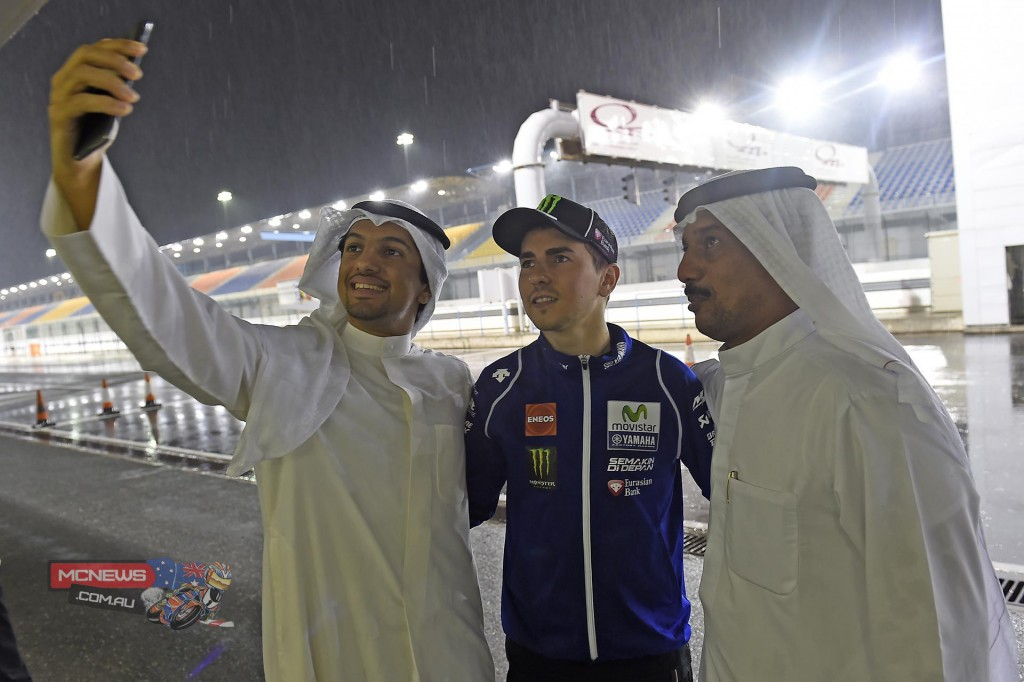 Losail MotoGP Test Day Three Rained out
