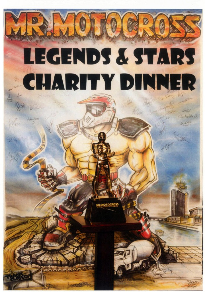 Mr Motocross Legends & Stars Charity Dinner DVD