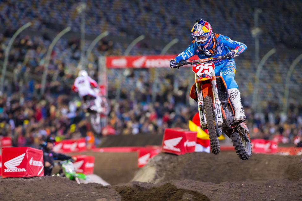 Marvin Musquin dominated Daytona