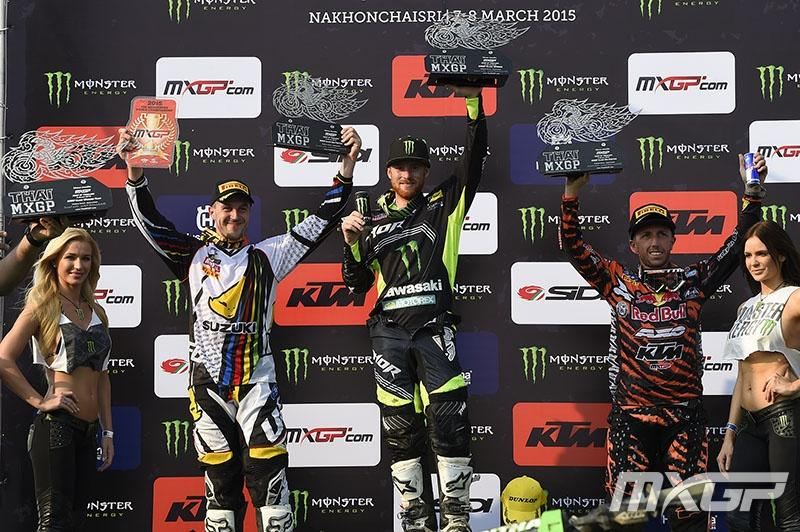 RV topped the podium in Thailand