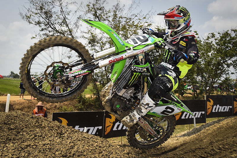 Ryan Villopoto took his first GP win