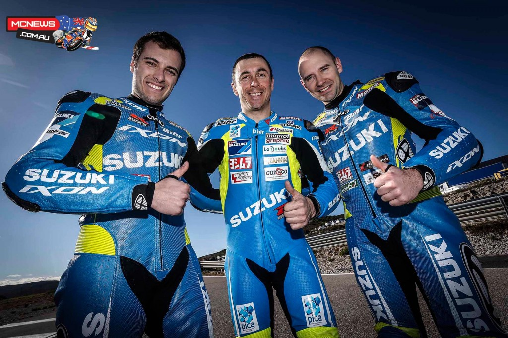 Vincent Philippe, Anthony Delhalle and new team rider Etienne Masson