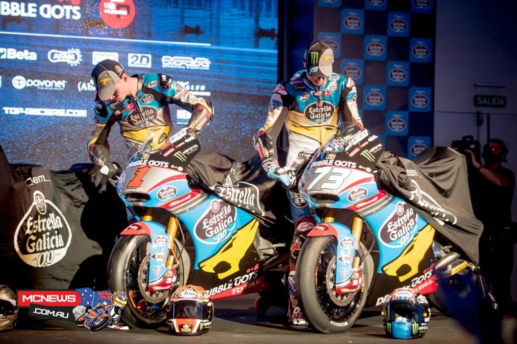 Estrella Galicia 0,0 motorcycle racing
