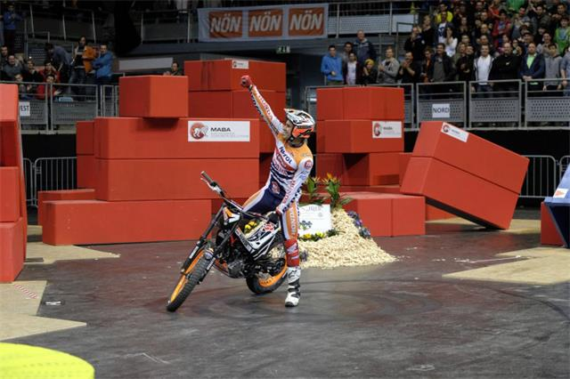 Toni Bou captured his ninth consecutive FIM X-Trial World Championship