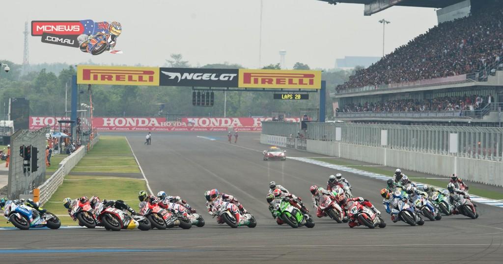 World Superbike 2015 - Round Two - Thailand