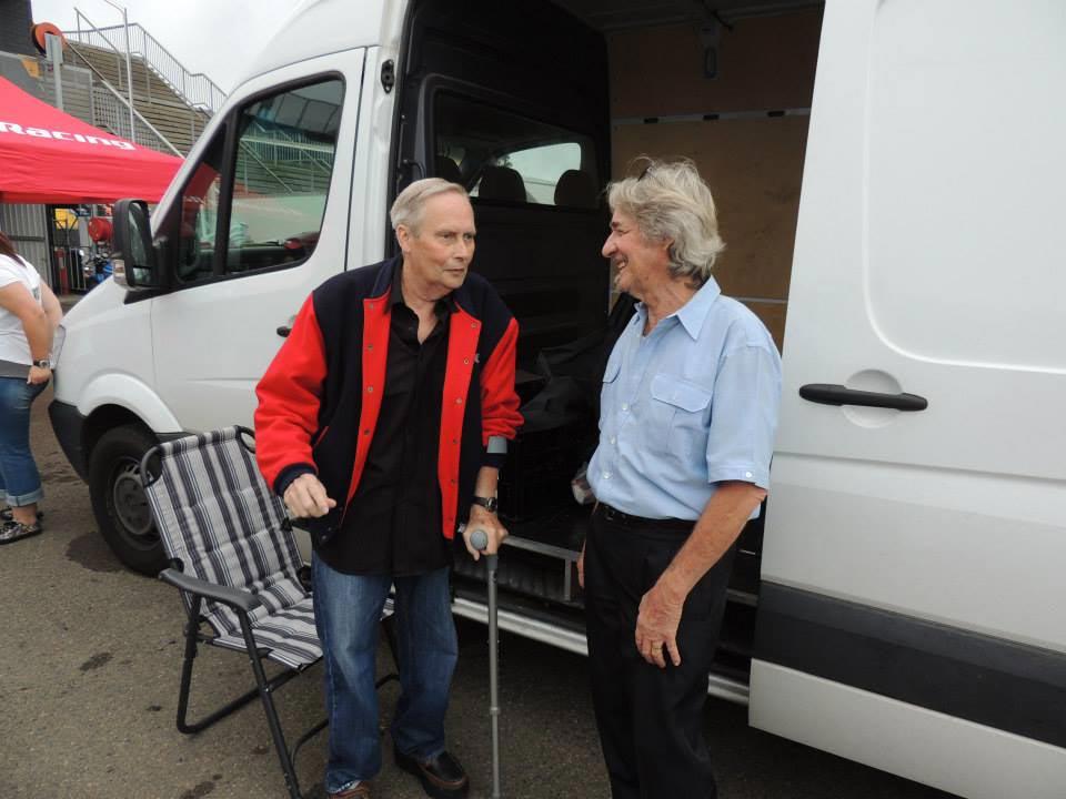 Barry Sheene Festival of Speed - Warren Willing and Alan Adams