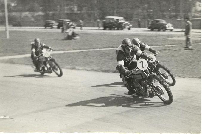 1936 Djurgaardsloppet Ragnar Sunnqvist