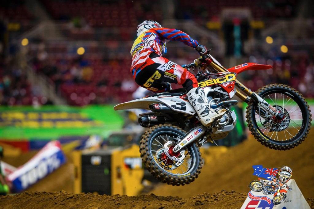 Second place in 450SX Class points standings, Eli Tomac in St. Louis