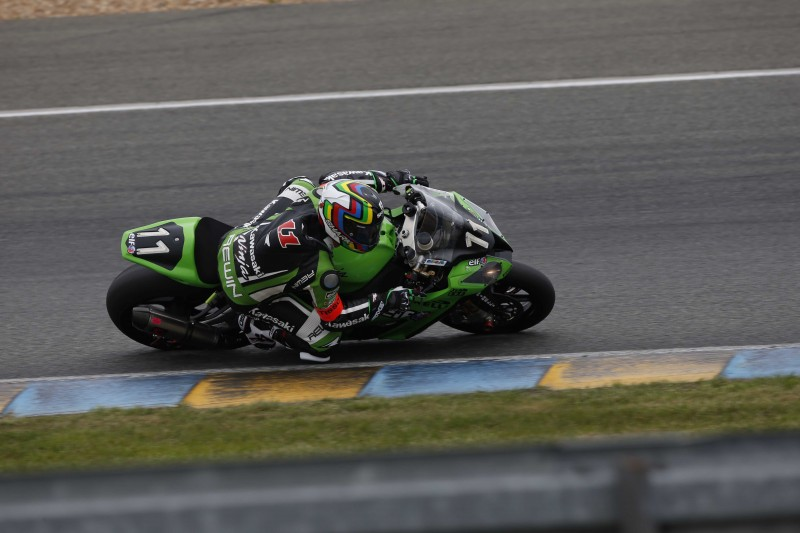 2015 Le Mans 24 Hour First Qualiftying - Kawasaki's Fabien Foret sets the pace