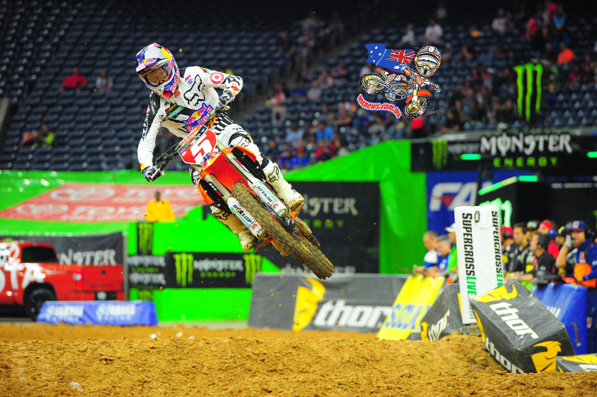 Ryan Dungey runner-up finish was his 13th consecutive podium result of the season and enough to clinch his first title since winning as a rookie during the 2010 season. The championship also signified the first for KTM in the 450SX Class.