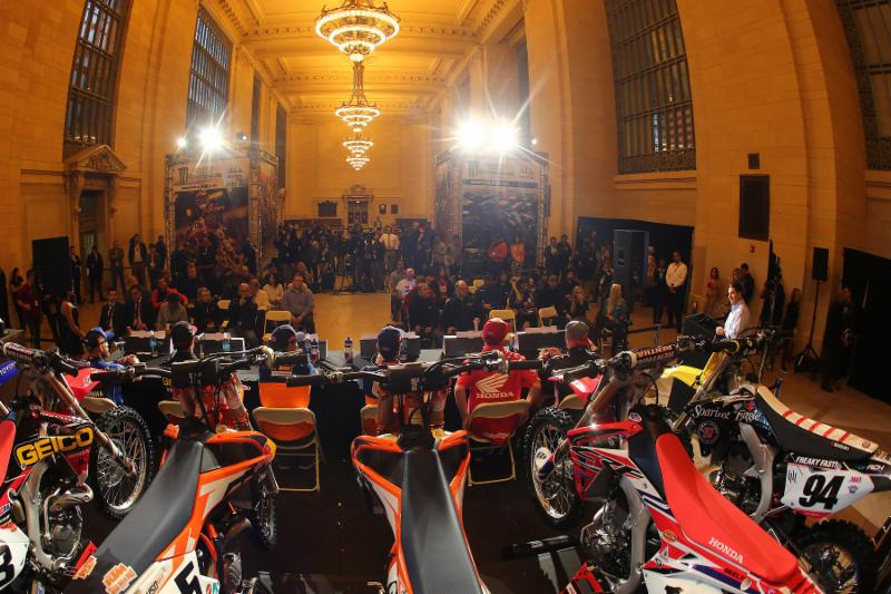 View from the Monster Energy Supercross press conference in New York -Photo Credit: Brown Dog Wilson