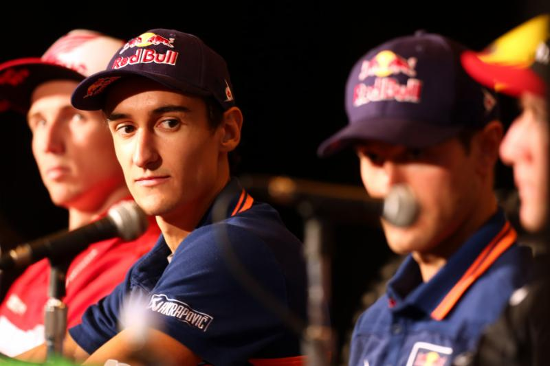 Marvin Musquin at the press conference -Photo Credit: Brown Dog Wilson
