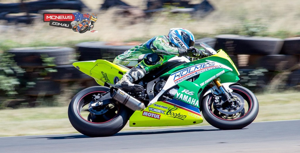 After suffering an engine failure early in the day Chris Quinn bounced back to top Supersport on Friday