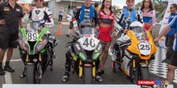Yamaha Motor Finance ASBK Championship Podium Round Two Race Two Morgan Park - Sportzcam Photography