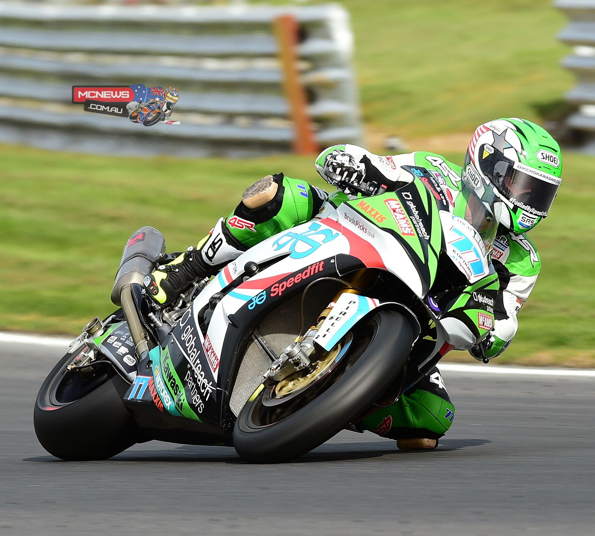 James Ellison edged out triple champion Ryuichi Kiyonari in the opening MCE Insurance British Superbike Championship free practice sessions at the second round of the season at Brands Hatc