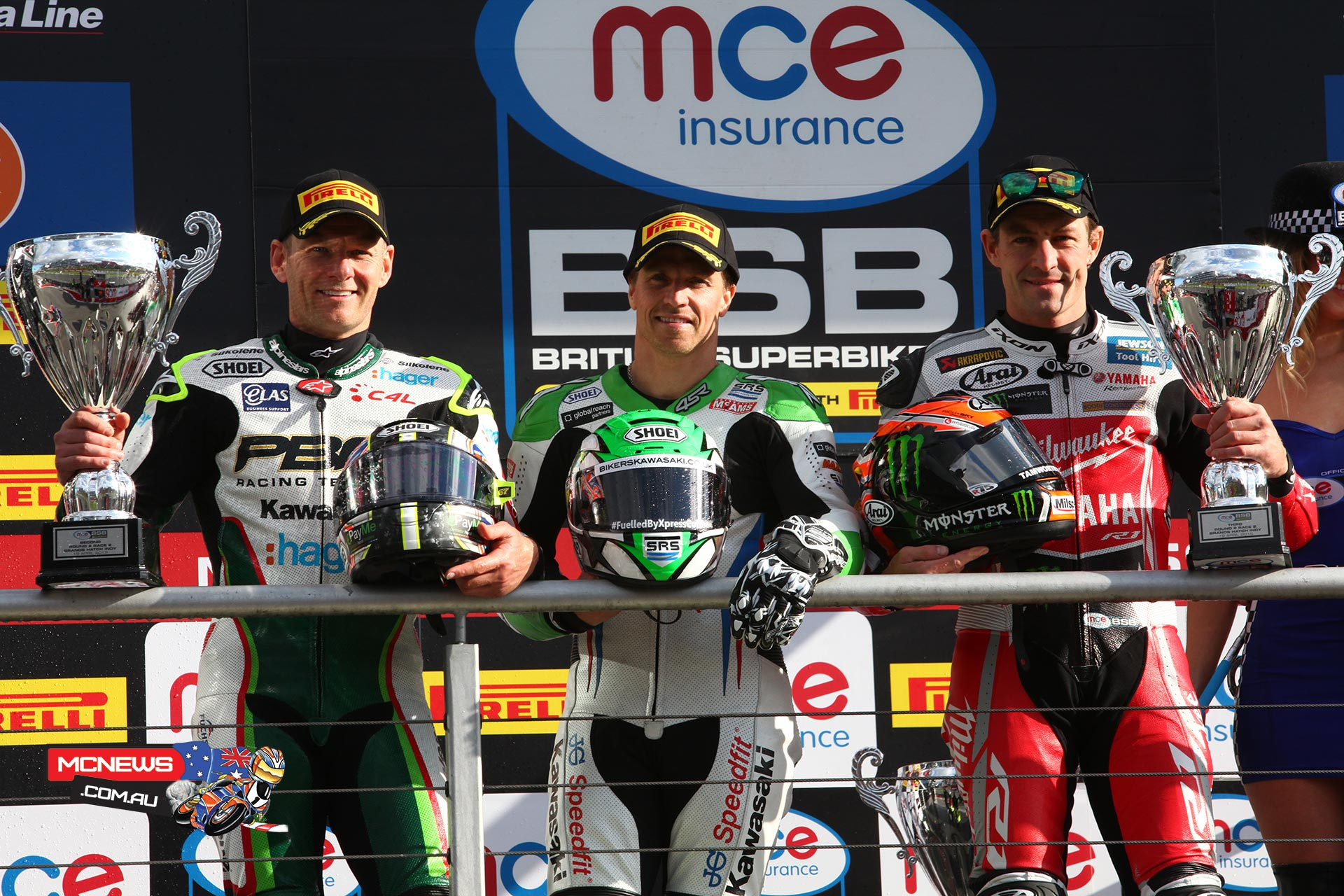 James Ellison, Shane Byrne and Josh Brookes