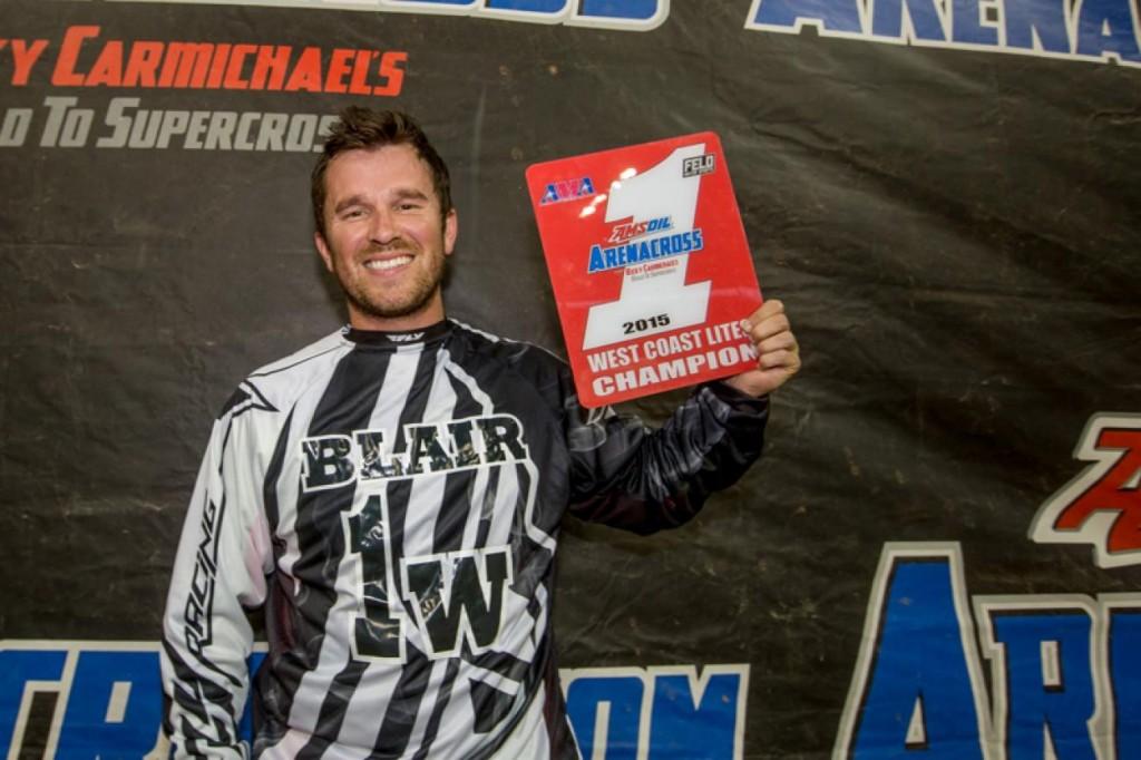 Daniel Blair claimed the Lites title