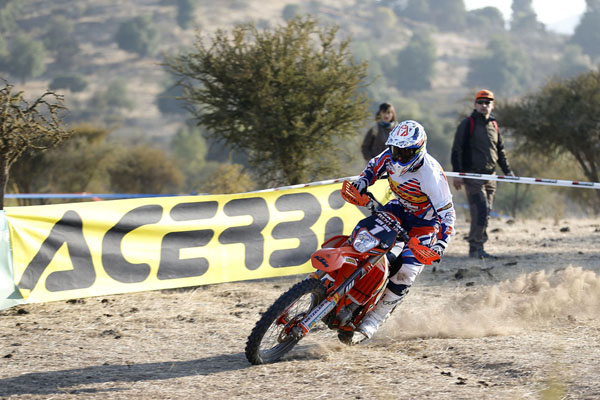 Christophe NAMBOTIN starts 2015 as he finished 2014