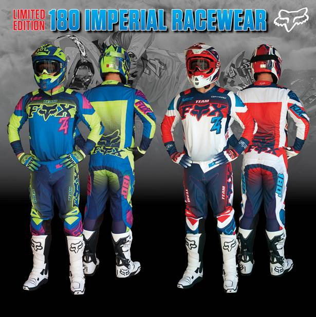 Fox 180 Imperial Racewear