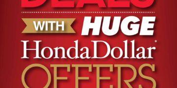 Move It With Huge Honda Dollar Deals