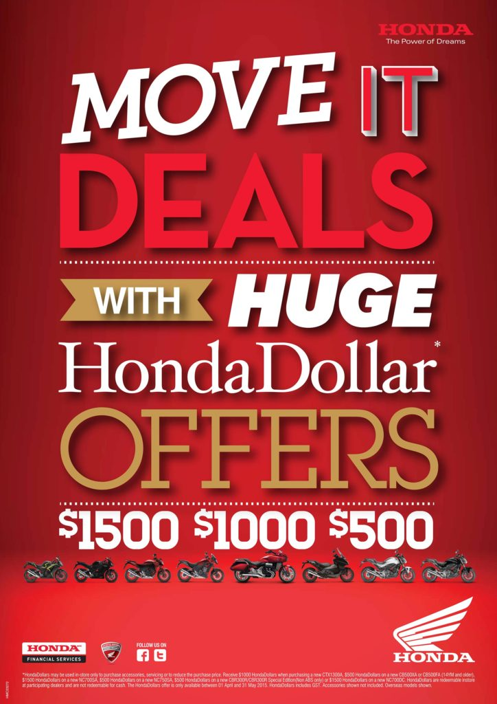 Move It With Huge Honda Dollar Deals