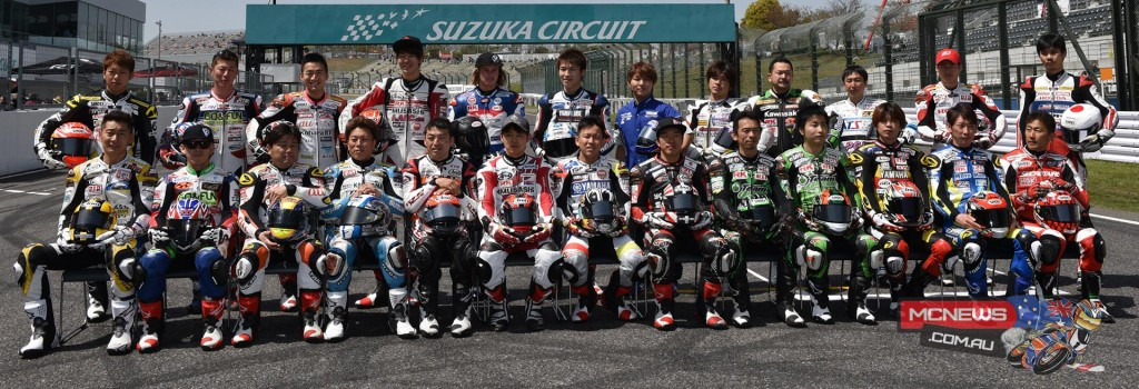 Japanese Superbike Championship Permanent Riders Season 2015